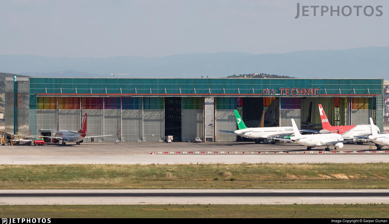 LTFJ - Airport - Hangar
