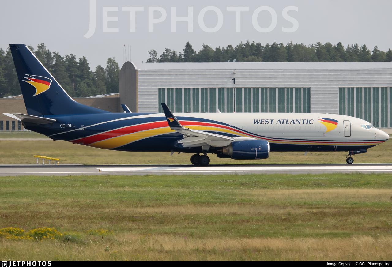 SE-RLL - Boeing 737-83N(BCF) - West Atlantic Airlines