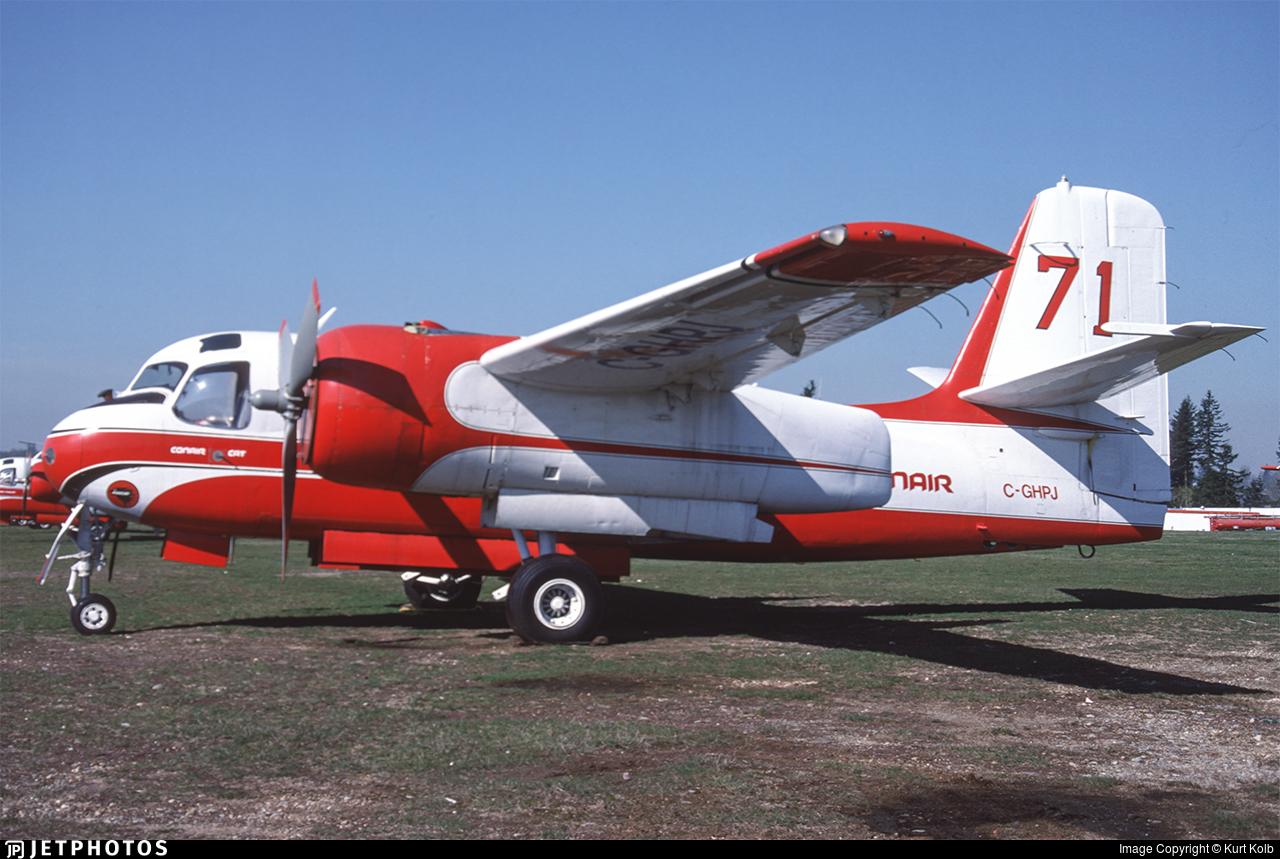 C-GHPJ - Conair S-2 Firecat - Conair Aviation