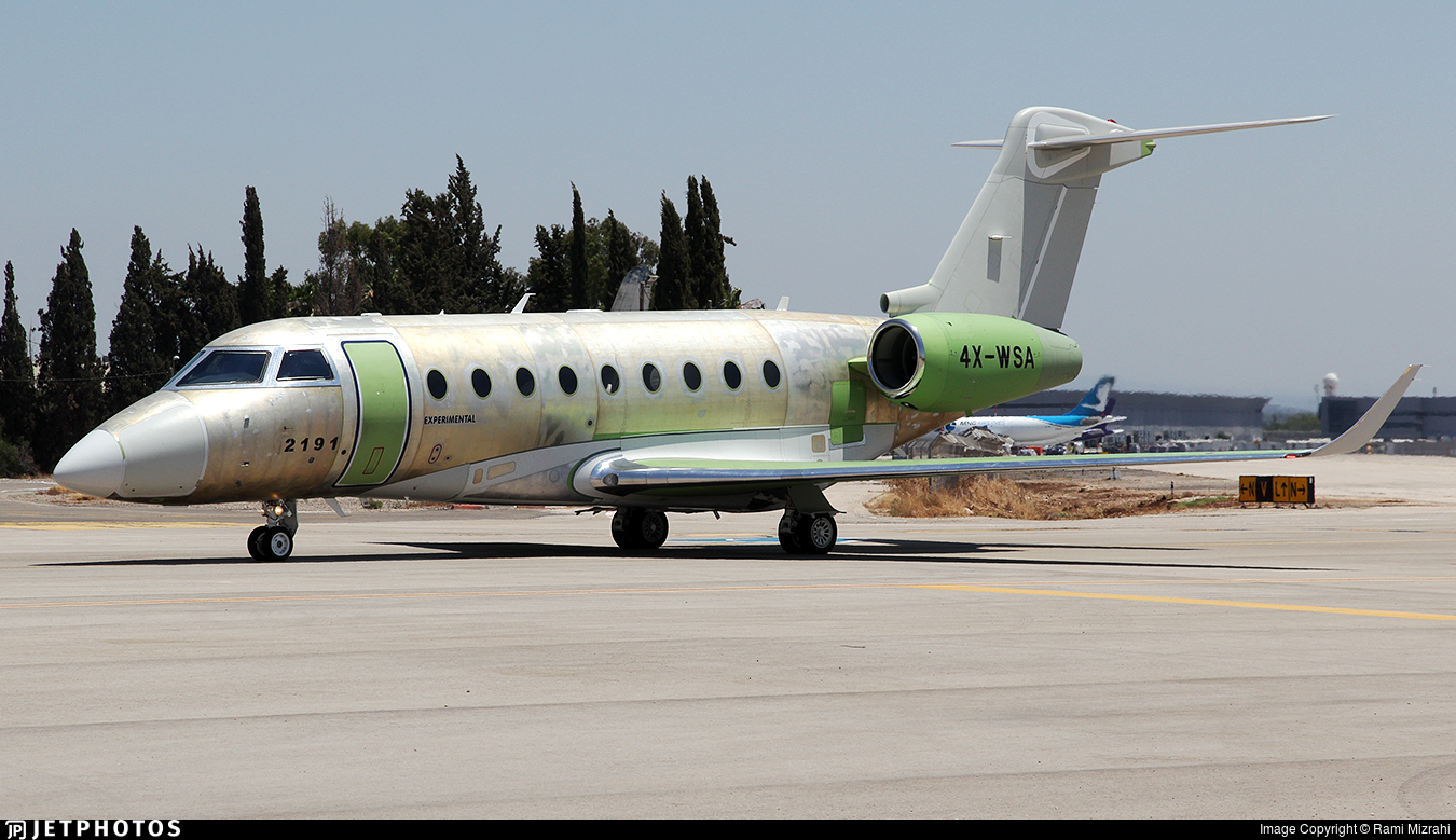 4X-WSA - Gulfstream G280 - Israel Aerospace Industries (IAI)