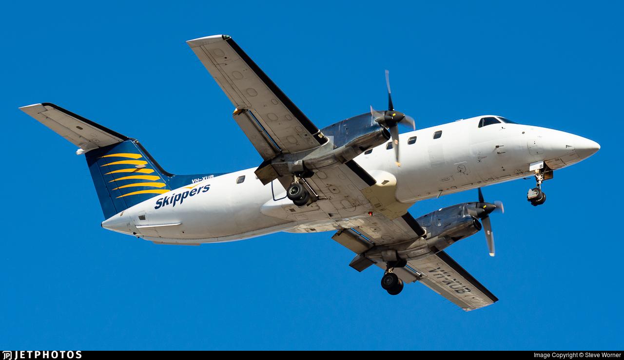VH-XUB - Embraer EMB-120ER Brasília - Skippers Aviation