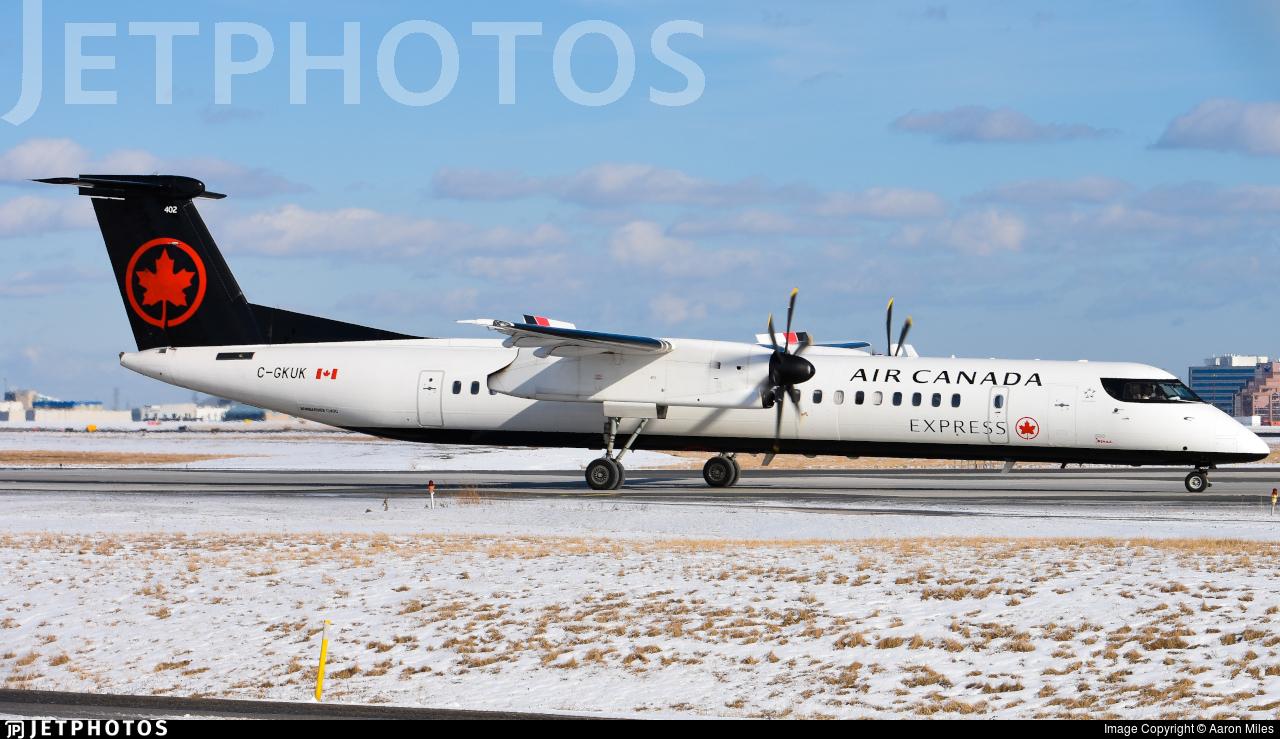 C-GKUK - Bombardier Dash 8-Q402 - Air Canada Express (Jazz Aviation)