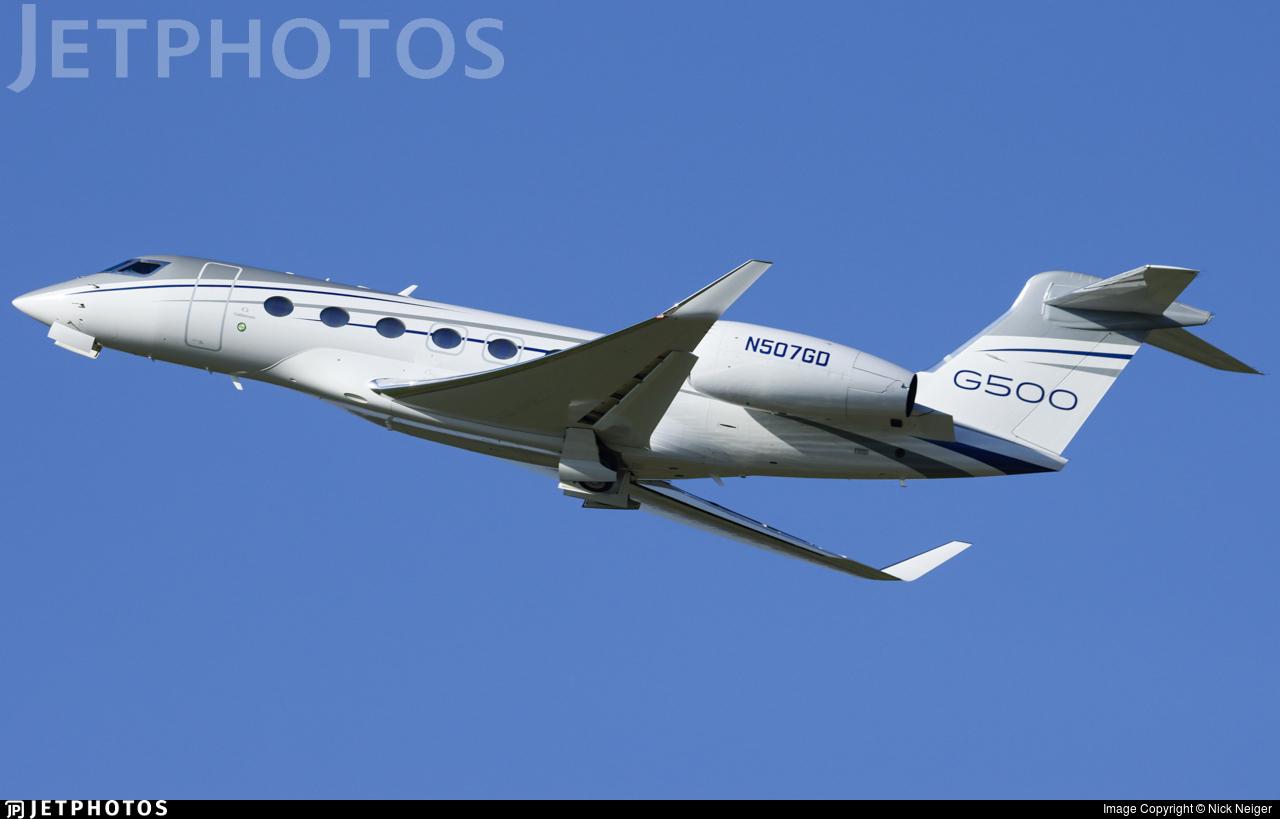 N507GD - Gulfstream G500 - Gulfstream Aerospace