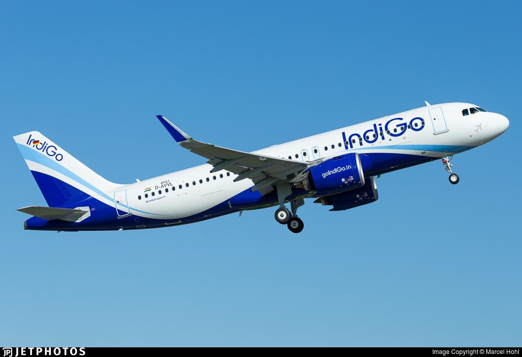 D-AVVL - Airbus A320-271N - IndiGo Airlines