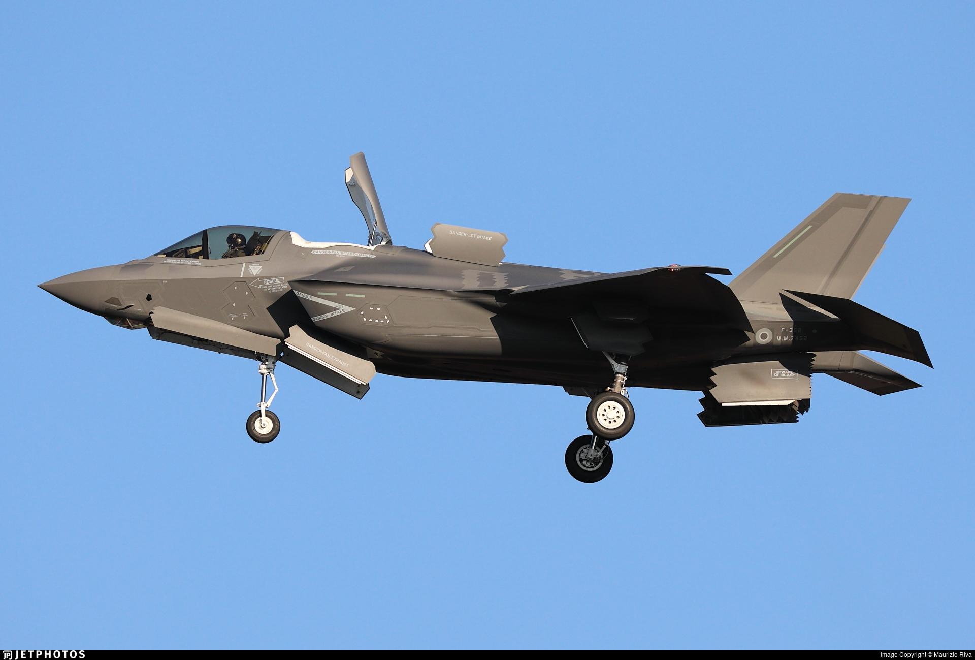 MM7452 - Lockheed Martin F-35B Lightning II - Italy - Navy