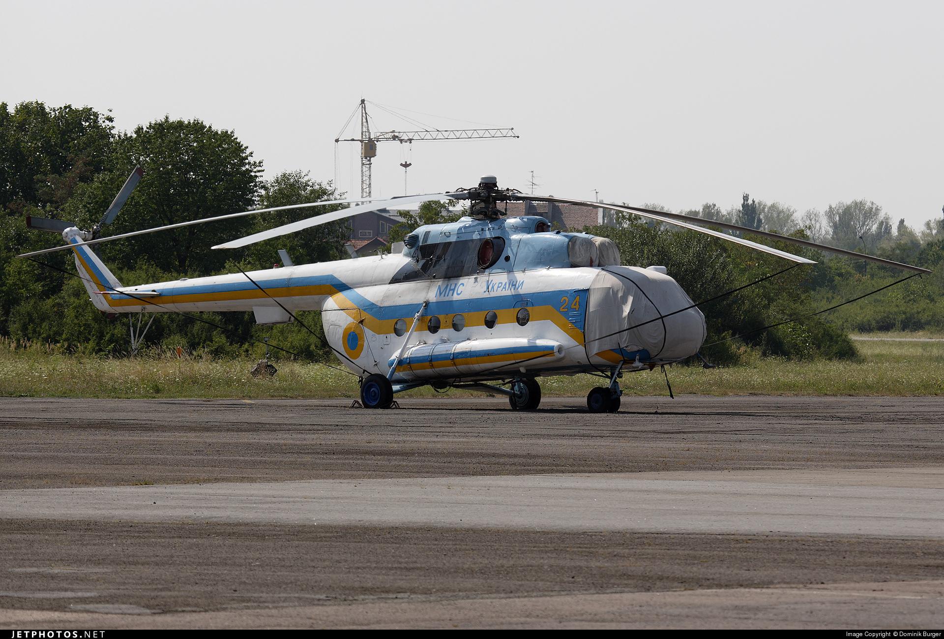 24 - Mil Mi-8AMT Hip - Ukraine - State Emergency Service
