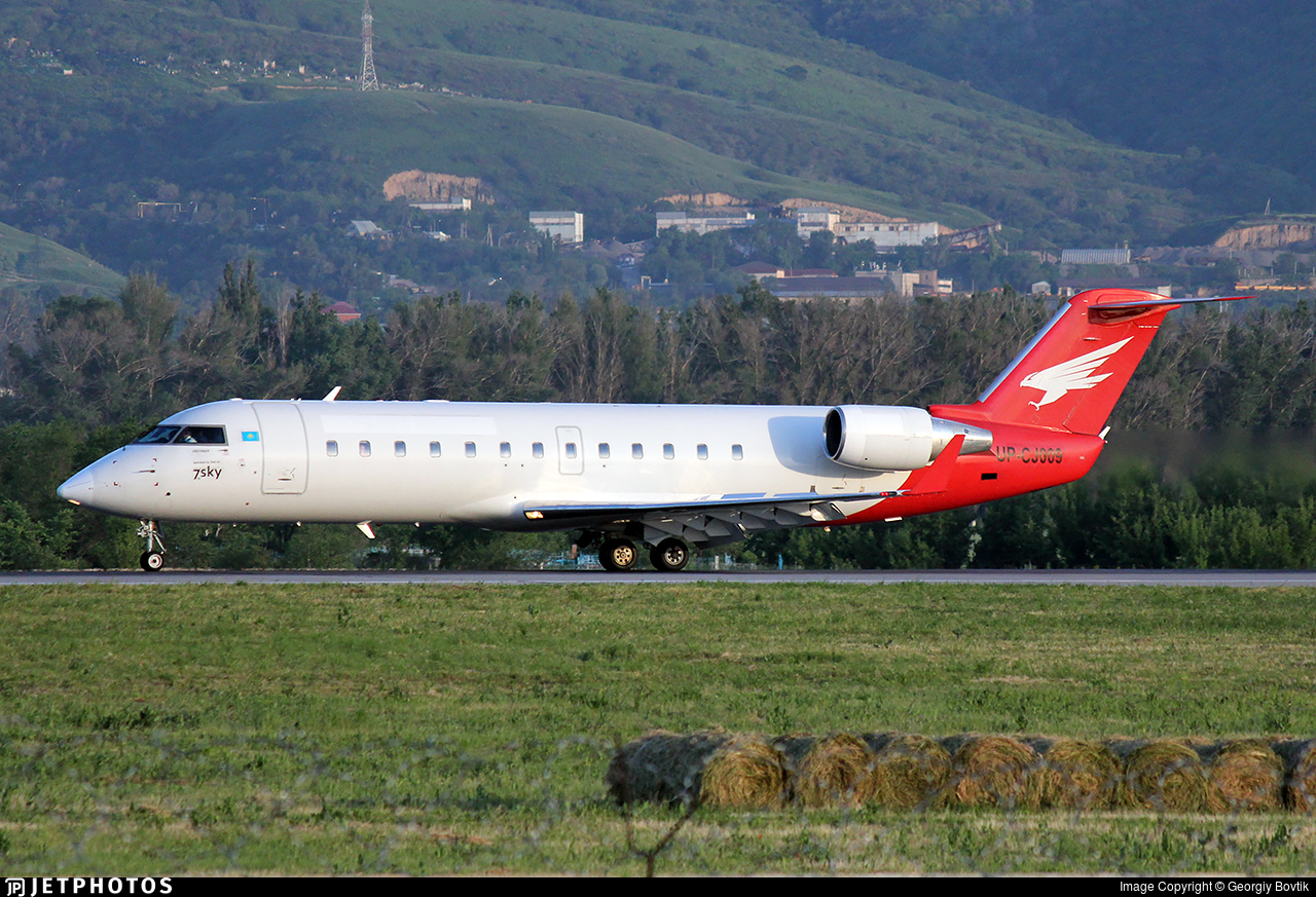 UP-CJ009 - Bombardier CRJ-100ER - 7th sky airlines