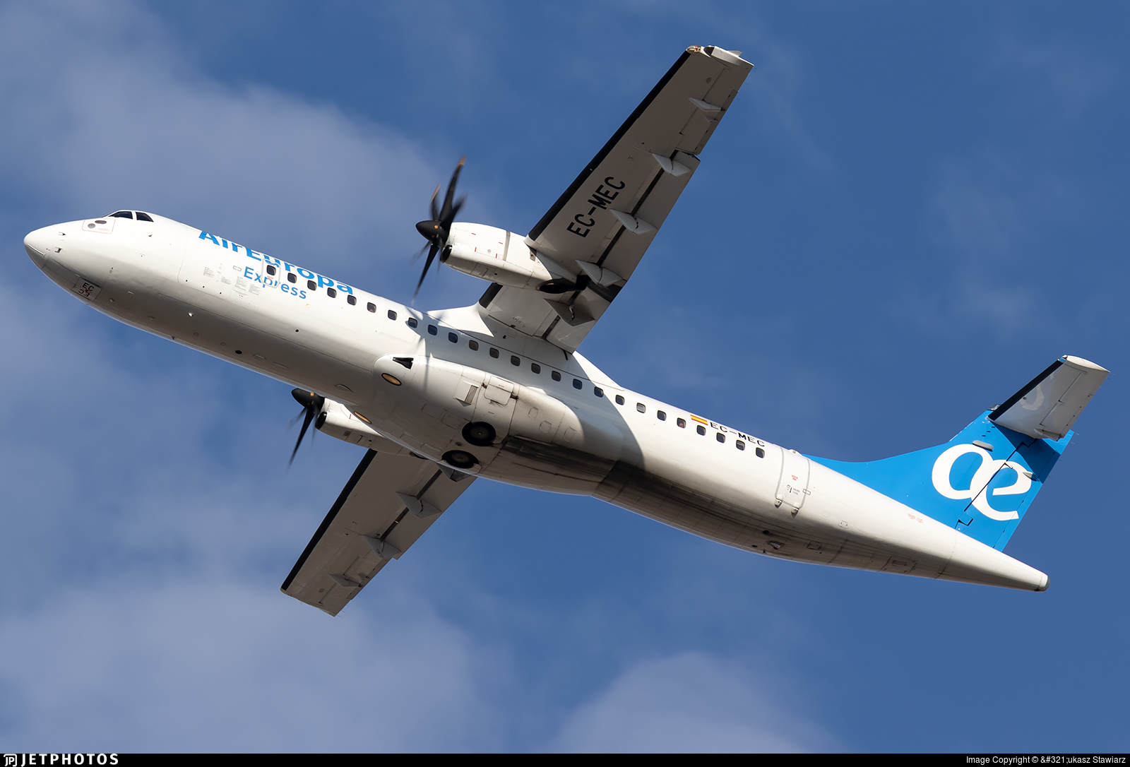 EC-MEC - ATR 72-212A(500) - Air Europa Express (Swiftair)