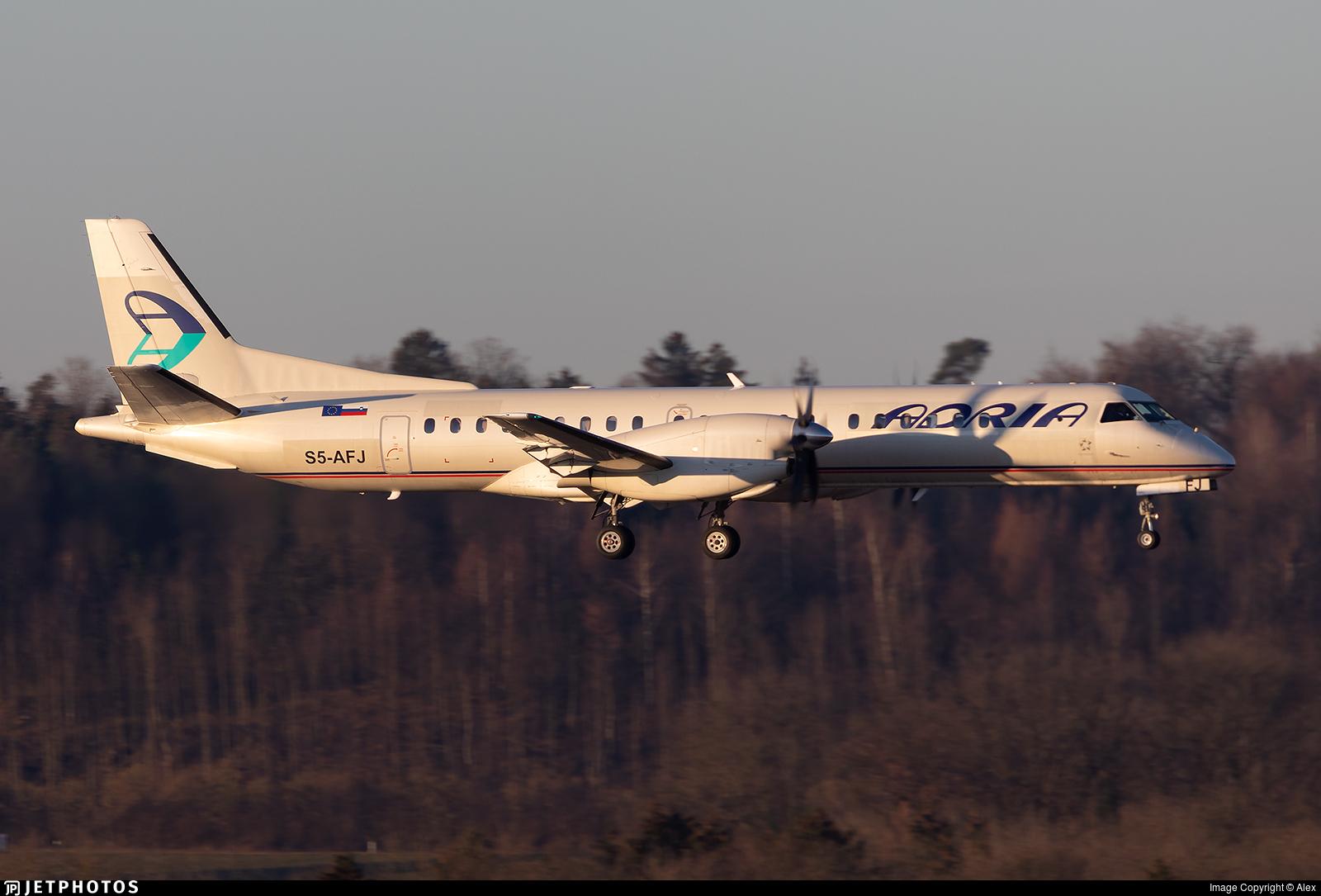 S5-AFJ - Saab 2000 - Adria Airways