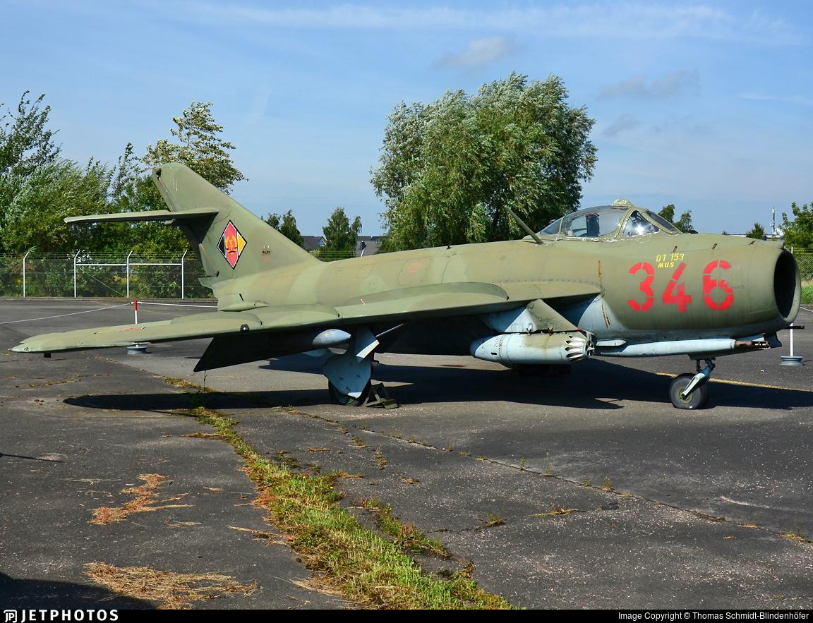 346 - PZL-Mielec LIM-5 - German Democratic Republic - Air Force