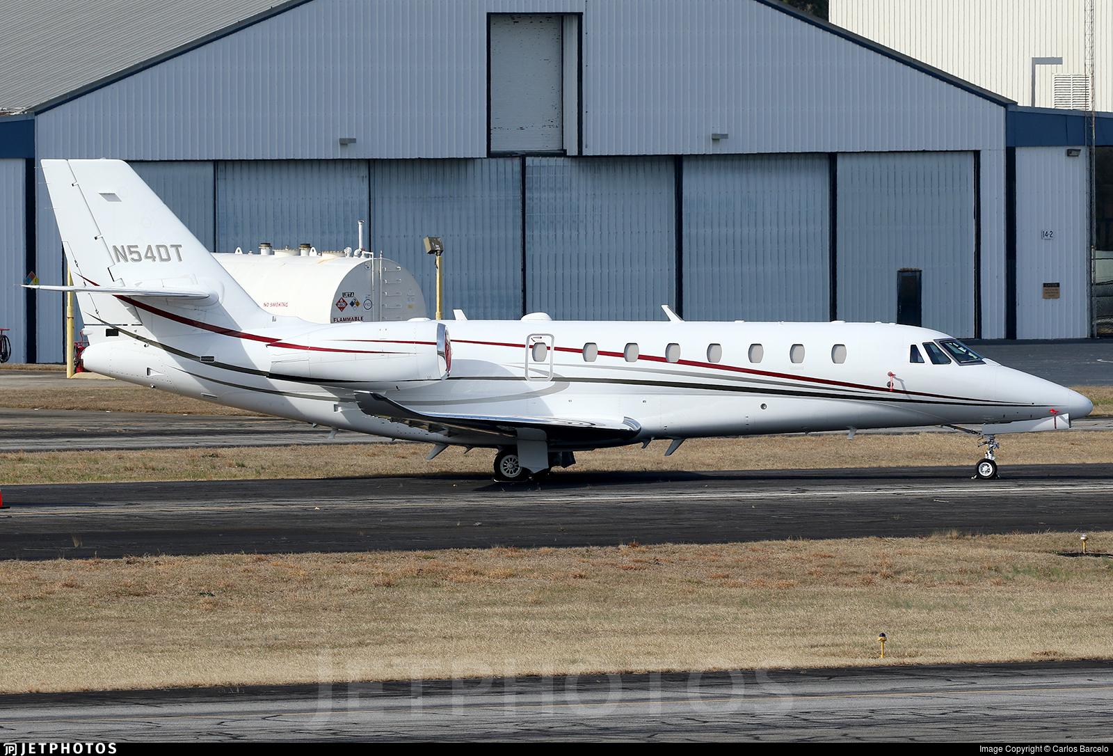 N54DT - Cessna 680 Citation Sovereign Plus - Private