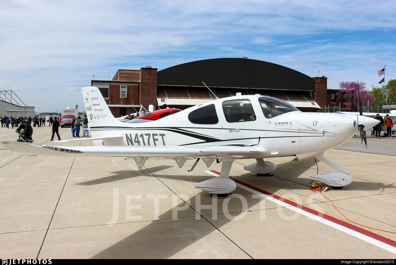 N417FT - Cirrus SR20 - Cirrus Aviation