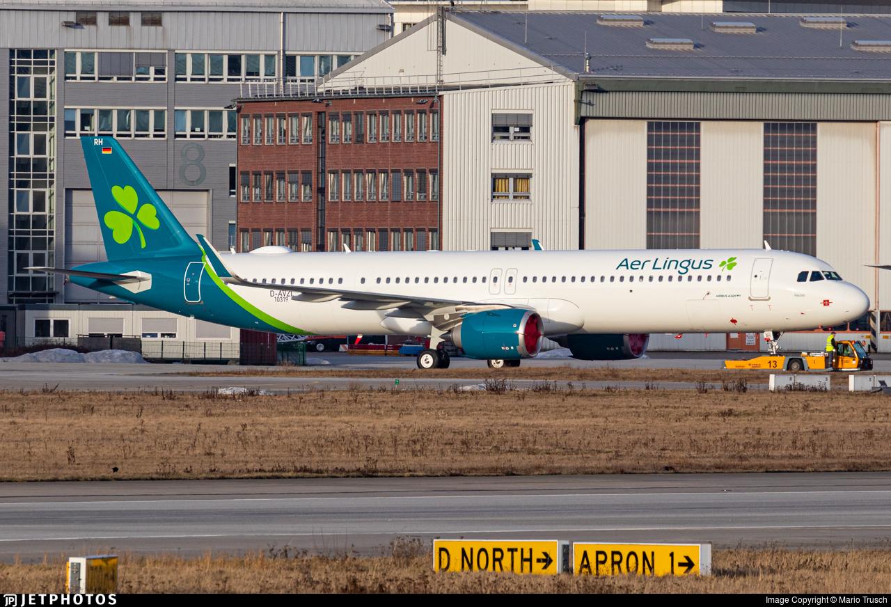 D-AVZL - Airbus A321-253NX - Aer Lingus