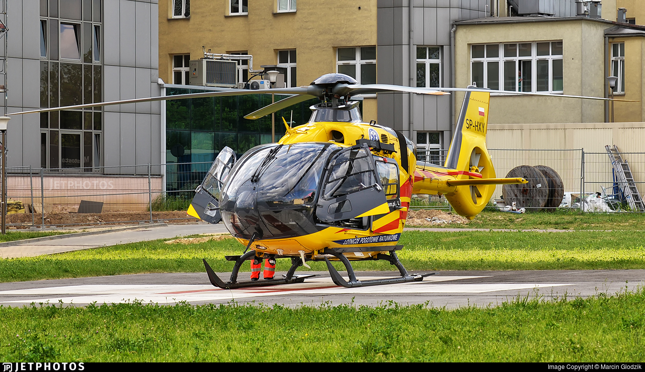 SP-HXY - Eurocopter EC 135P3 - Lotnicze Pogotowie Ratunkowe