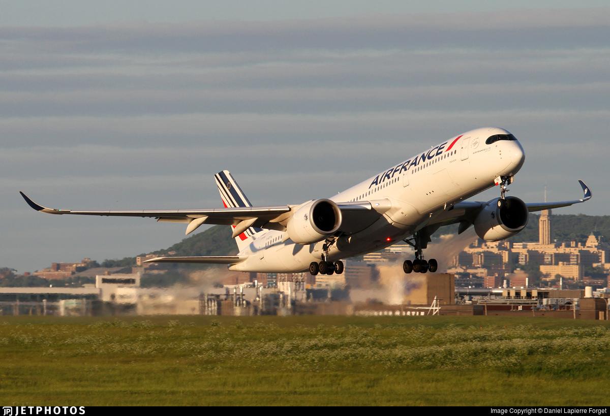 F-HTYA - Airbus A350-941 - Air France