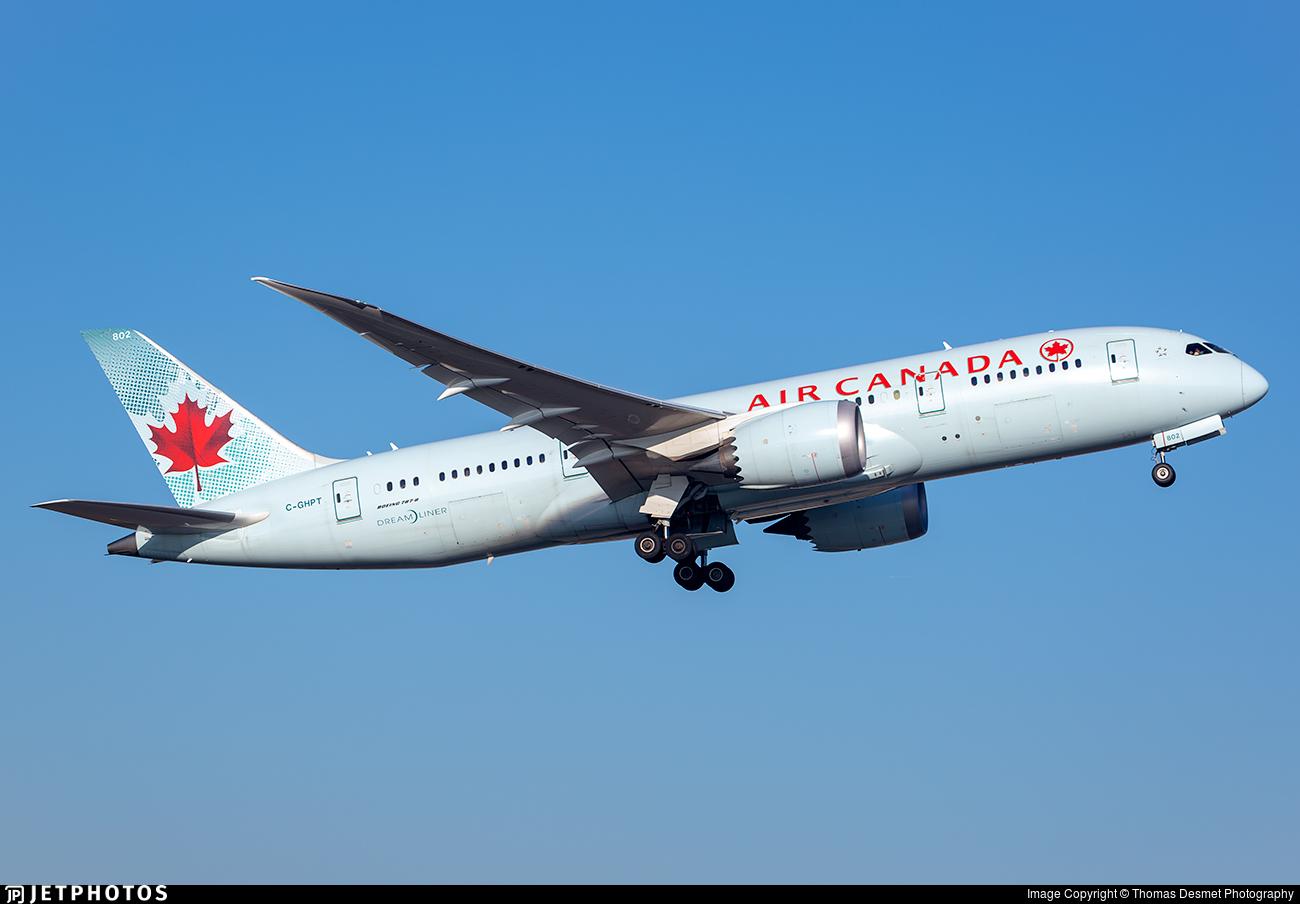 C-GHPT - Boeing 787-8 Dreamliner - Air Canada