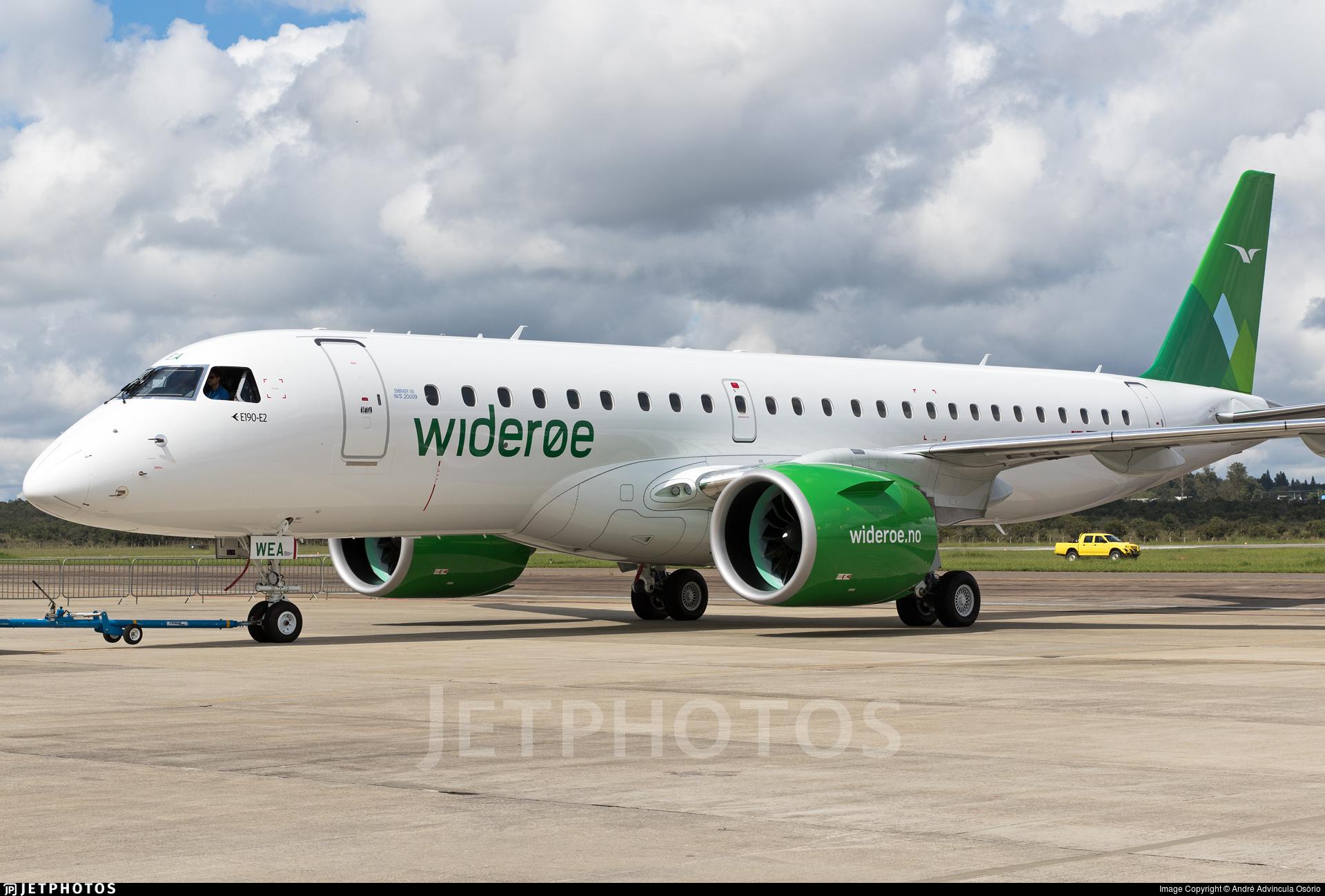 PR-EFL | Embraer 190-300STD | Widerøe | André Advíncula ...