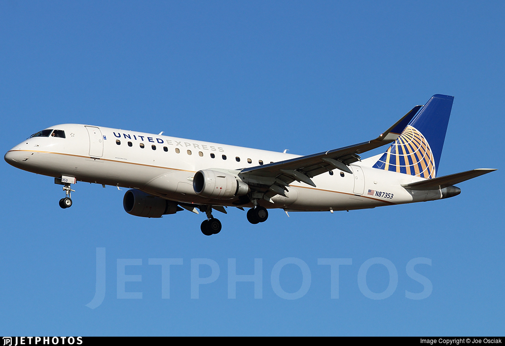 N87353 - Embraer 170-200LR - United Express (Mesa Airlines)