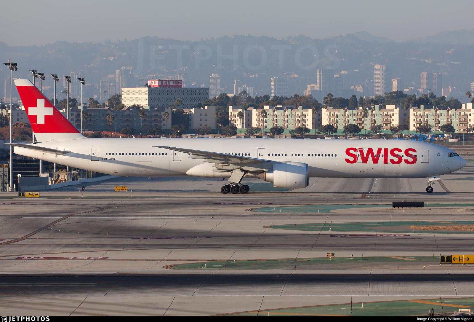 HB-JNG - Boeing 777-3DEER - Swiss