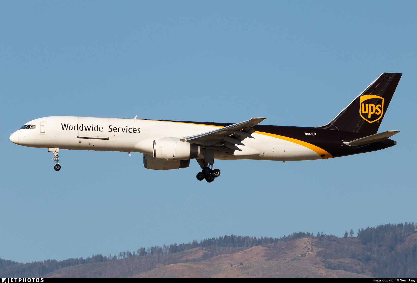 N445UP - Boeing 757-24A(PF) - United Parcel Service (UPS)