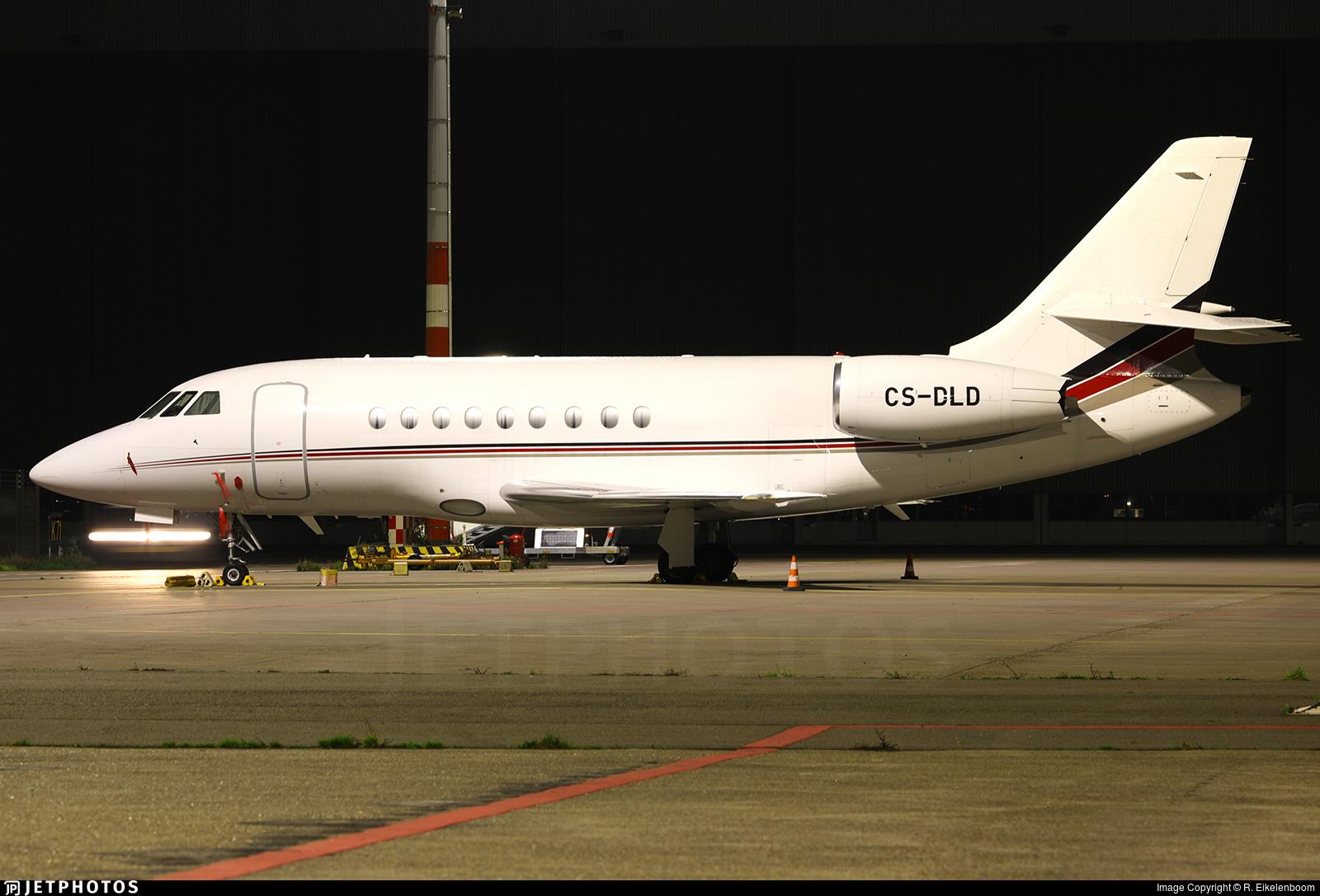CS-DLD - Dassault Falcon 2000EX - NetJets Europe