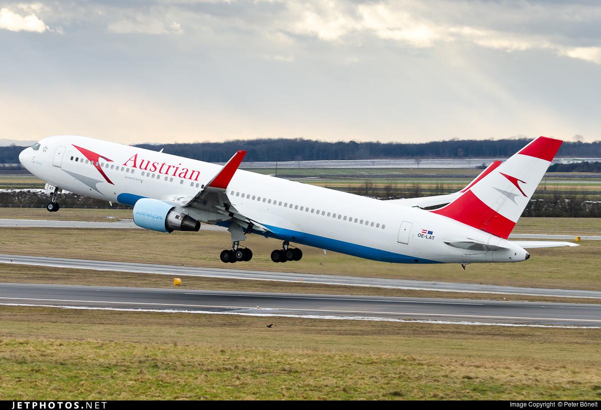 OE-LAT - Boeing 767-31A(ER) - Austrian Airlines (Tyrolean Airways)