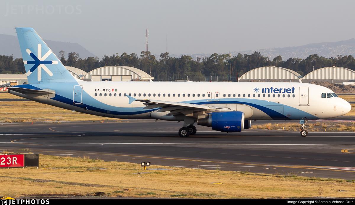 XA-MTO - Airbus A320-214 - Interjet