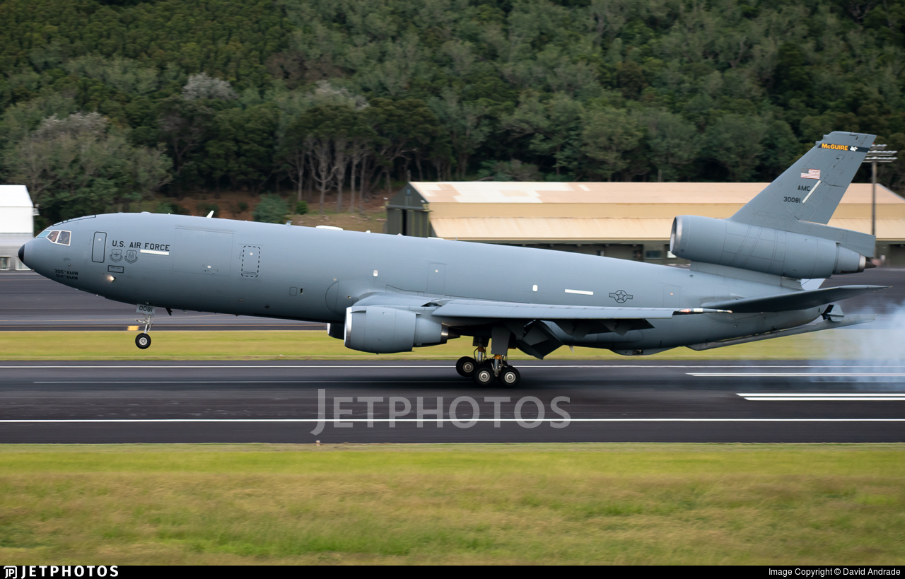 83-0081 - McDonnell Douglas KC-10A Extender - United States - US Air Force (USAF)