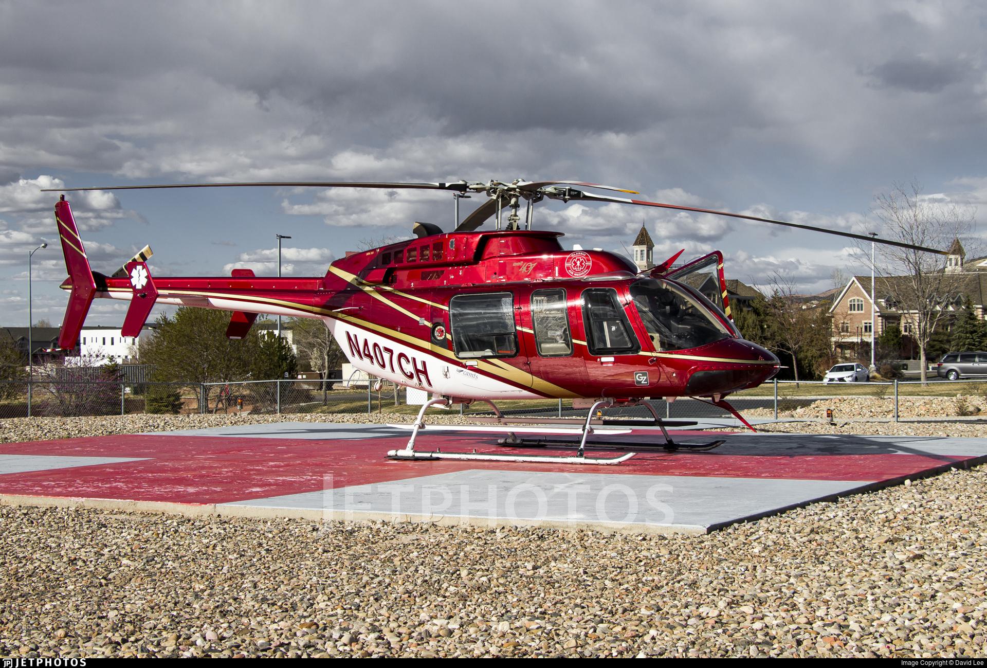 N407CH - Bell 407 - Classic Air Medical