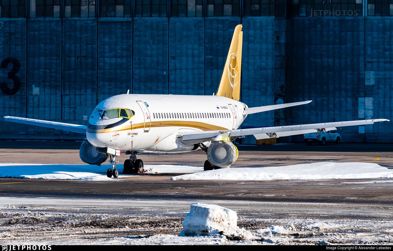 RA-89004 - Sukhoi Superjet 100-95B - Buryatia Airlines