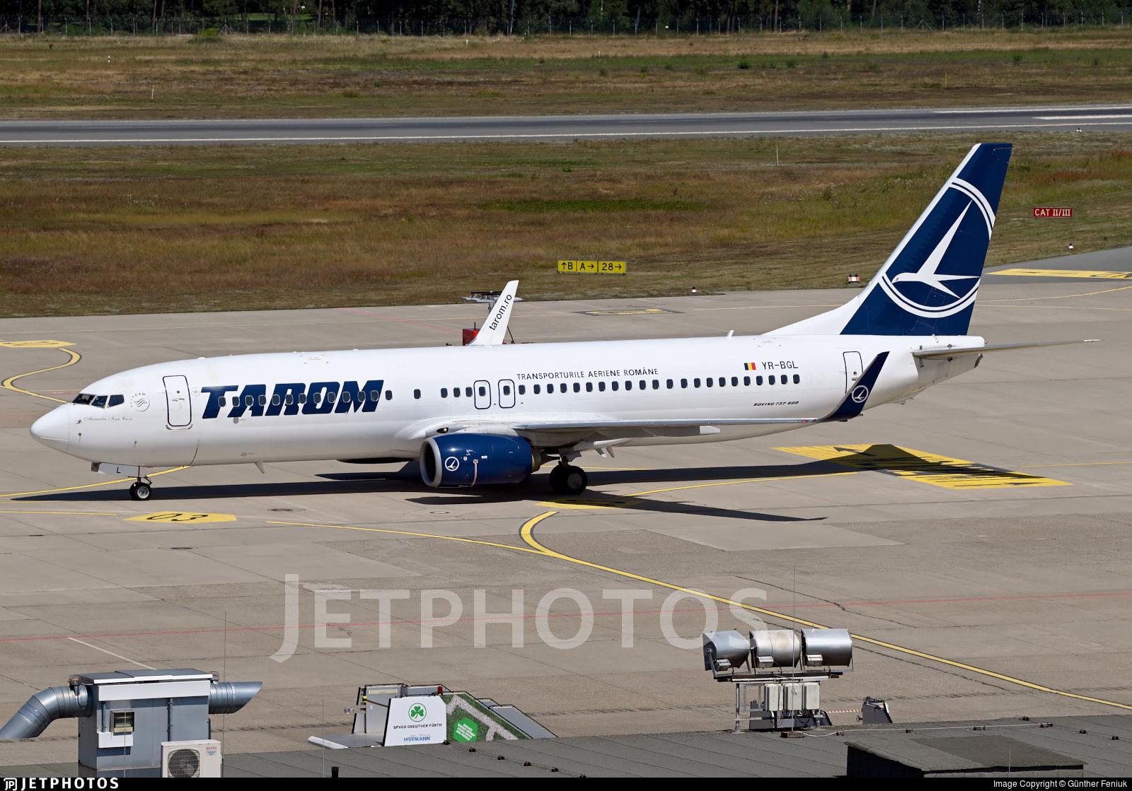 YR-BGL - Boeing 737-8H6 - Tarom - Romanian Air Transport