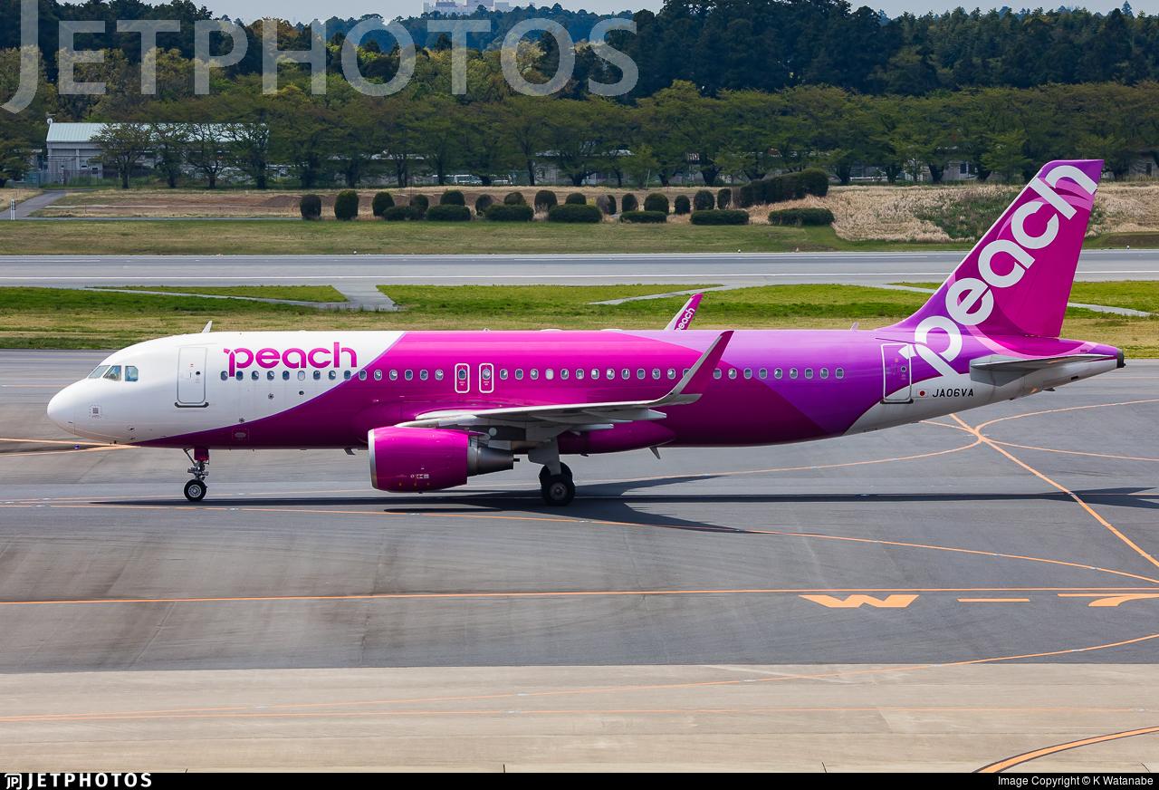 JA06VA - Airbus A320-214 - Peach Aviation