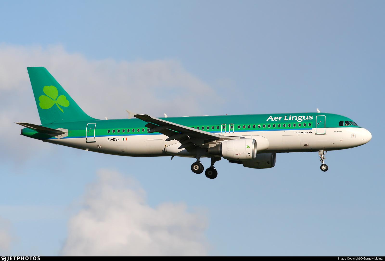EI-DVF - Airbus A320-214 - Aer Lingus
