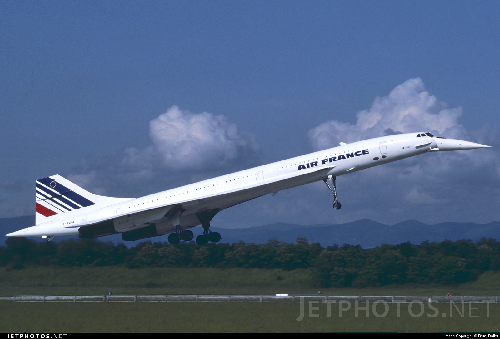 F-BVFA - Aérospatiale/British Aircraft Corporation Concorde - Air France