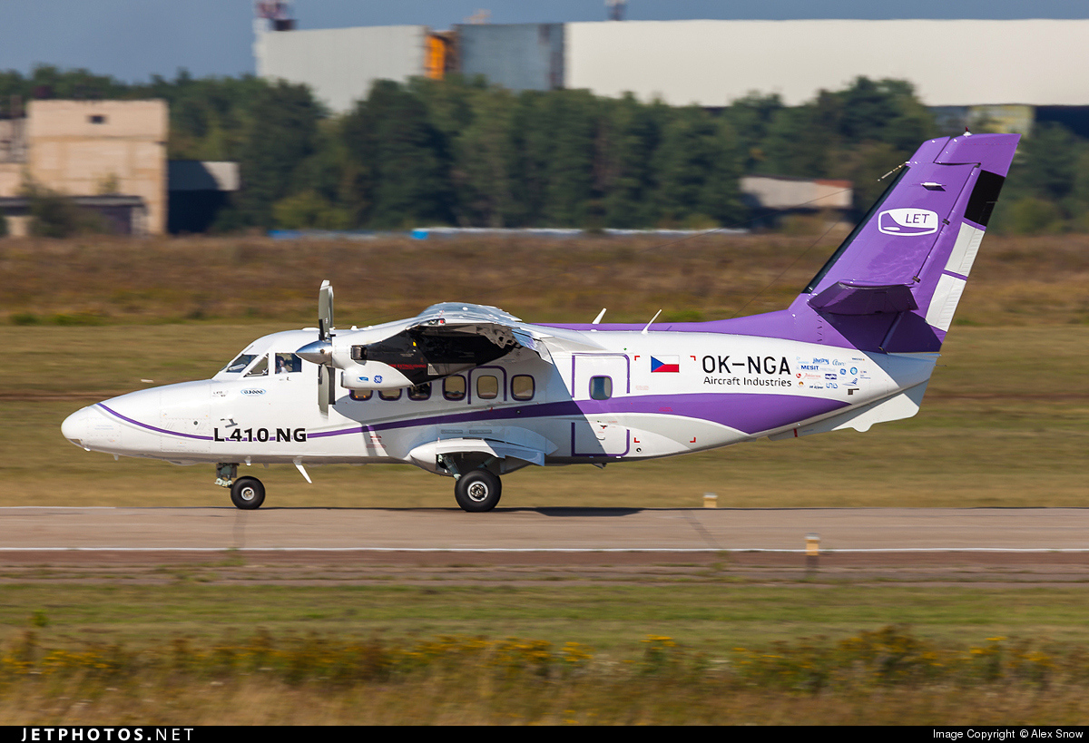 OK-NGA - Let L-410NG - LET-Aircraft Systems