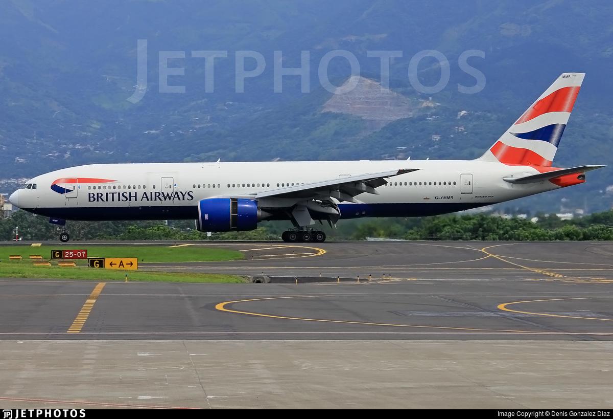 G-YMMR - Boeing 777-236(ER) - British Airways
