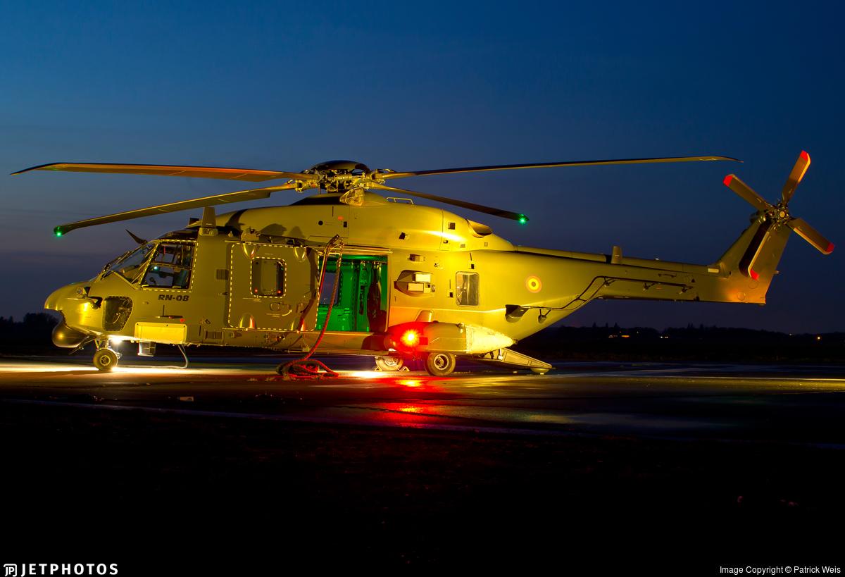 RN-08 - NH Industries NH-90TTH - Belgium - Air Force