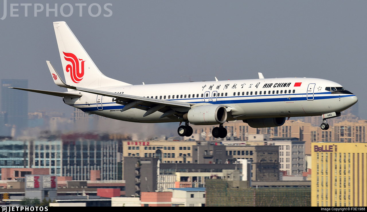 B-5442 - Boeing 737-89L - Air China