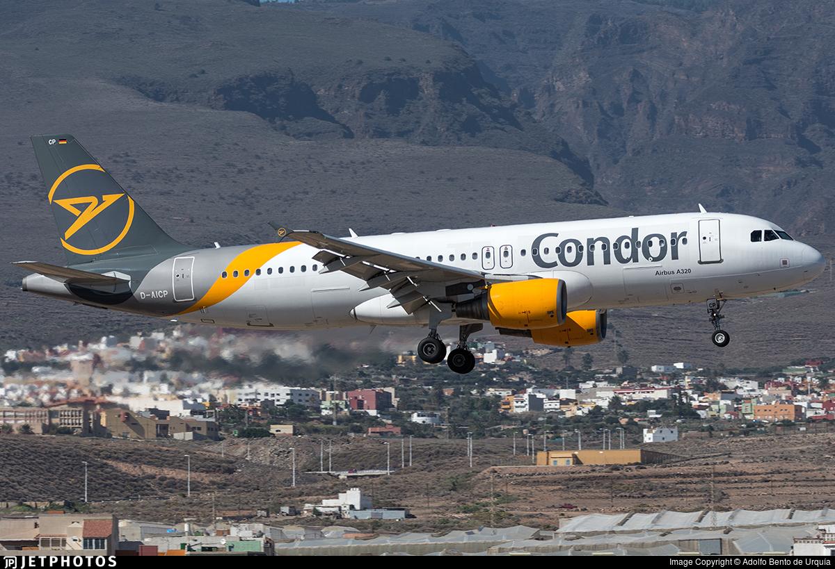 D-AICP - Airbus A320-214 - Condor