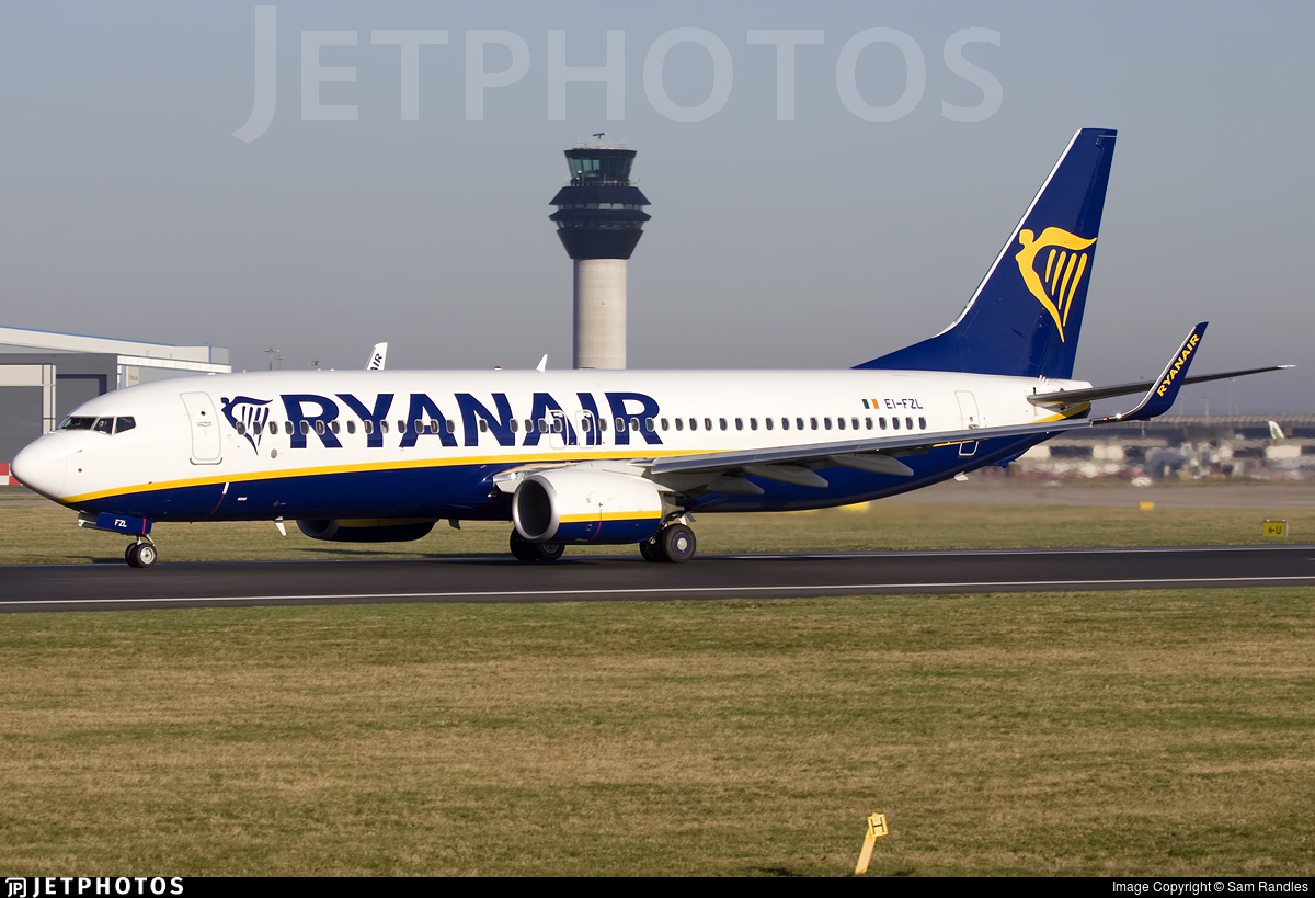 EI-FZL - Boeing 737-8AS - Ryanair