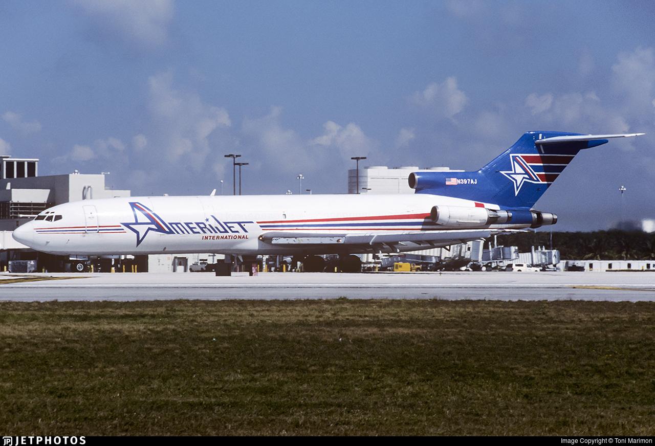 N397AJ - Boeing 727-2X3(Adv)(F) - Amerijet International