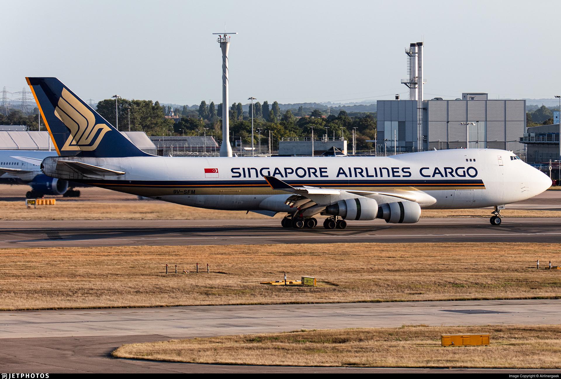 9V-SFM - Boeing 747-412F(SCD) - Singapore Airlines Cargo