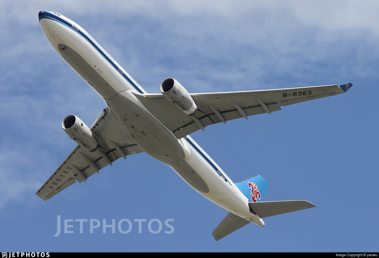 B-8363 - Airbus A330-343 - China Southern Airlines