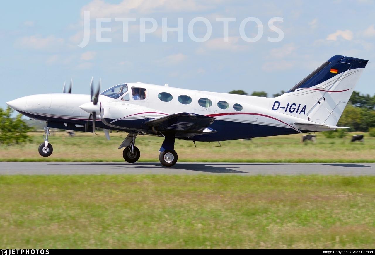 D-IGIA - Cessna 421 Golden Eagle - Private
