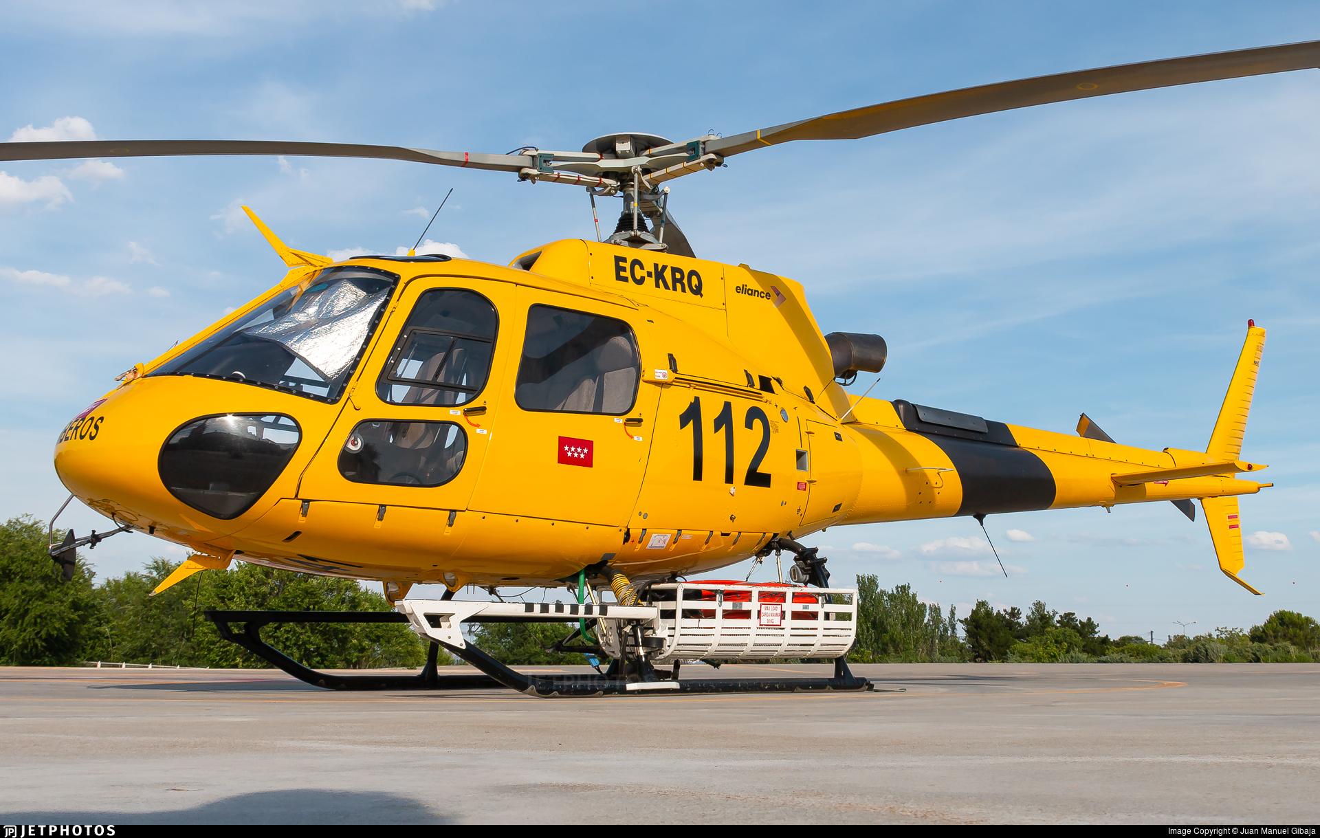 EC-KRQ - Aérospatiale AS 350B3 Ecureuil - Eliance