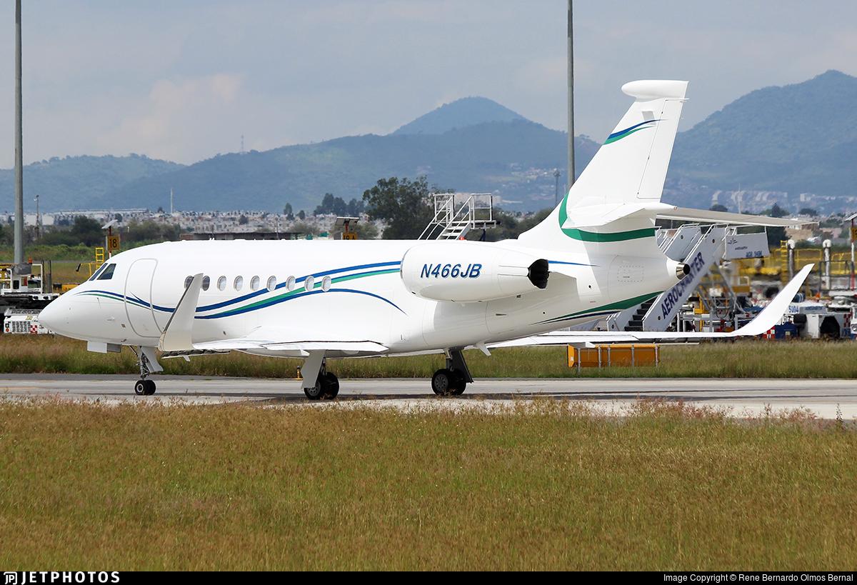 N466JB - Dassault Falcon 2000EX - Private