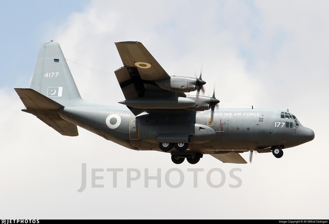 4177 - Lockheed C-130E Hercules - Pakistan - Air Force