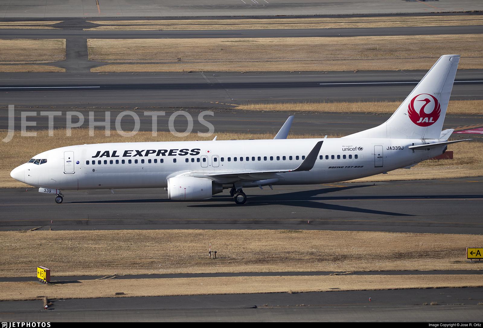 JA339J - Boeing 737-846 - JAL Express