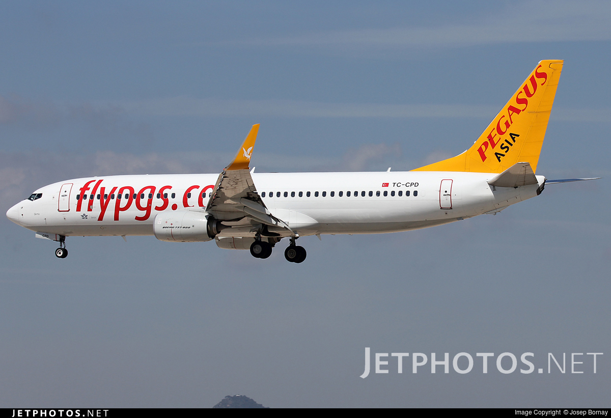 TC-CPD - Boeing 737-82R - Pegasus Airlines Asia