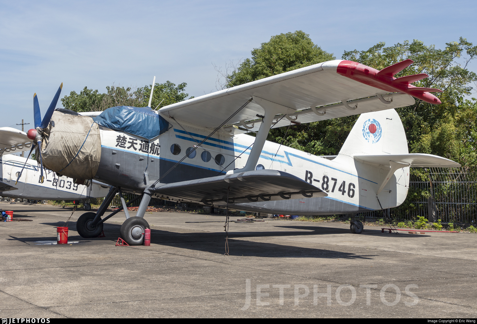 B-8746 - Nanchang Y-5 - Chutian General Airlines